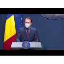 Conferinţă de presă susținută de premierul Florin Cîţu